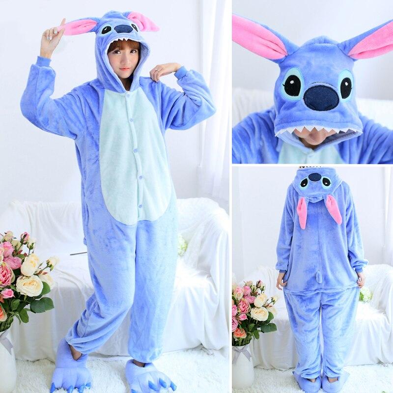 Женские пижамные комплекты с вышивкой, фланелевые пижамы с милым единорогом и животными, женские зимние пижамы с единорогом, ночная рубашка...