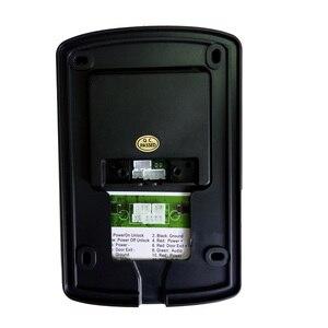 Image 5 - 7 inç kablolu görüntülü kapı telefonu interkom sistemi IP55 sınıf su geçirmez kamera ile gece Visior