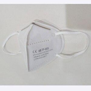 Image 4 - 10 sztuk KN95 maski na twarz maska KN95 maski na usta możliwość dostosowania do zanieczyszczenia maseczka higieniczna filtr (nie do zastosowanie medyczne)