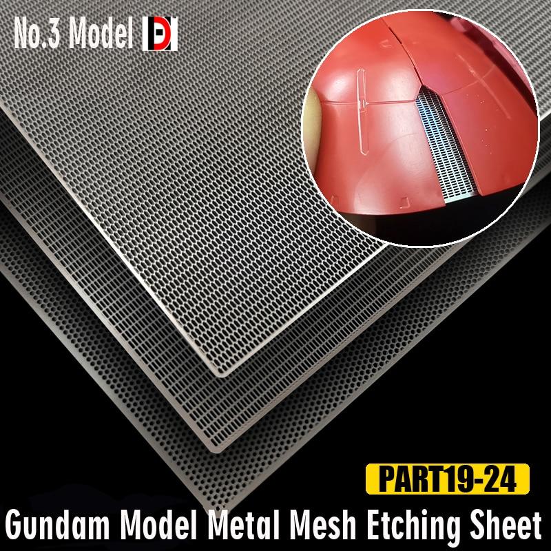 Модель Gundam, металлический лист для травления сетки, моделирование, обновленные наборы для хобби аксессуар для рукоделия