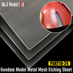 Gundam Model Metal Mesh Etching Sheet Modelling Upgrade Kits Hobby Craft Accessory