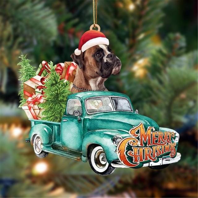 Dog Lovely Christmas Tree Gift 5