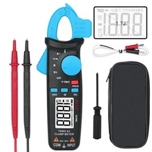 Мини цифровые клещи карманные цифровые клещи мультиметр BSIDE DC/AC Ток 100A 1mA тестер