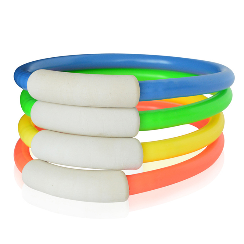 1PCS Play Toys Pool Accessory Random Color Swimming Pool Underwater Diving Rings Children Kids Dive Ring For Summer Beach Water