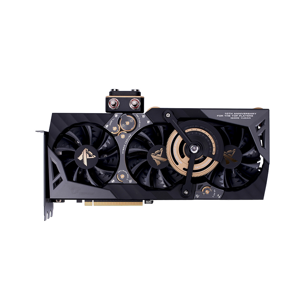 Colorful iGame GeForce RTX 2080 Ti Kudan Video Card GDDR6 11GB Graphic Card 1818MHz One-key Overclock Gaming GPU Graphic Card image
