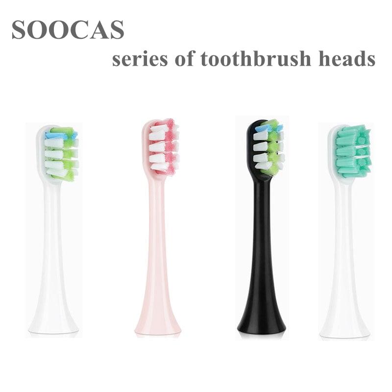 9 шт. сменные головки зубных щеток для Xiaomi Soocas X3/X1/X5 для Xiaomi Mijia/ SOOCARE X3 электрические головки зубных щеток|Насадки для зубных щеток|   | АлиЭкспресс