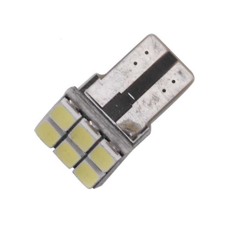 10 Pcs Mobil Styling T10 LED W5W158 168 194 5630 5730 6 SMD LED Mobil Lampu Dome Lampu Baca Reverse penggantian Lampu Lampu DC 12V