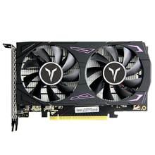 Yeston GTX1650-4G D6 GA Графика карты 4G/128 бит/GDDR6 1410/1590 МГц DVI-D + совместимому с HDMI + DP игровой Графика карты для видео