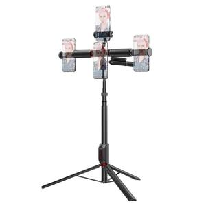 Image 3 - BlitzWolf bluetooth Selfie Stick Photography Lighting LED Ring Light Lamp Stand for DSLR Camera Photography Ring Light projector