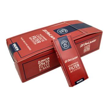 Hurtownie 250 sztuk fajka do tytoniu filtry 9mm fajka filtr z węglem aktywnym dla VAUEN tanie i dobre opinie CN (pochodzenie) Gift Box PN-L0101 Filter element
