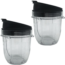 Juicer Accessories Cup Lid for Ninja Juicer for Nutri Ninja 12Oz CUP 12 Ounce Blender Jar 2 Pack of 12 Oz for Nutri Ninja Cups w tings crunchy corn sticks 6 ounce bags pack of 12