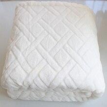 2 слоя Толстая зимняя термальная 3d из клетчатой материи С одеяло супер мягкие пушистые детей ясельного возраста детское одеяло Одеяло пеленка офисное сиденье одеяло