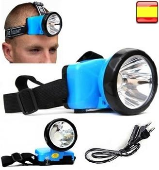 Linterna Frontal Recargable Impermeable De luz LED 7210B ZOOM ajustable