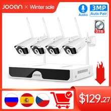 Camera-Set NVR Audio-Record Video-Surveillance-Kit Wifi Security IP Jooan Outdoor 8CH