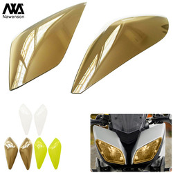 ABS Plastic Motorcycle Headlight Shield For MT09 MT 09 mt-09 Tracer 2016-2018 2017 Front Lamp Screen Protective Cover