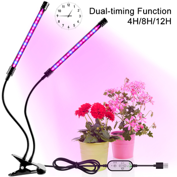 WENNI Plant Grow LED Full Spectrum Indoor Growing Tent USB Phyto Lamp Greenhouse LED Growth Light For Vegetable Flower Fitolamp led plant grow light strip ac 100 240v for greenhouse vegetable flower plant light