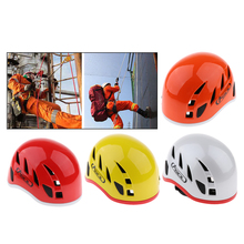 Professional Safety Half Dome Safety Helmet Hard Hat For Rock Climbing Caving Rescue Downhill Equipment
