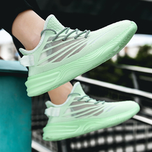 Men's Runnging Shoes Sneakers Breathable Mesh GYM Sneakers C