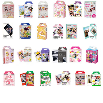 Original Fujifilm Instax mini Film 10 Sheets Instant Film mini 8 mini 9 photo For 7s 70 SP-1 SP-2 Instant Polariod Camera original fujifilm 10 sheets instax mini stripe instant film photo paper for instax mini 8 7s 25 50s 90 9 sp 1 sp 2 camera