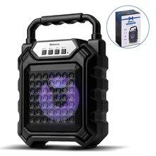 Shinco Karaoke hoparlörler sistemi 3D kablosuz ses kutusu bas Subwoofer müzik sütun desteği eller serbest/USB/TF kart/AUX