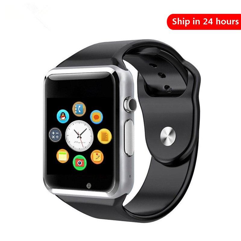 0-A1 Смарт-часы водонепроницаемый Bluetooth Wrist Часы Спорт шагомер с SIM TF карты камеры Смарт-часы для Android Watch Phone смотреть на Алиэкспресс Иркутск в рублях