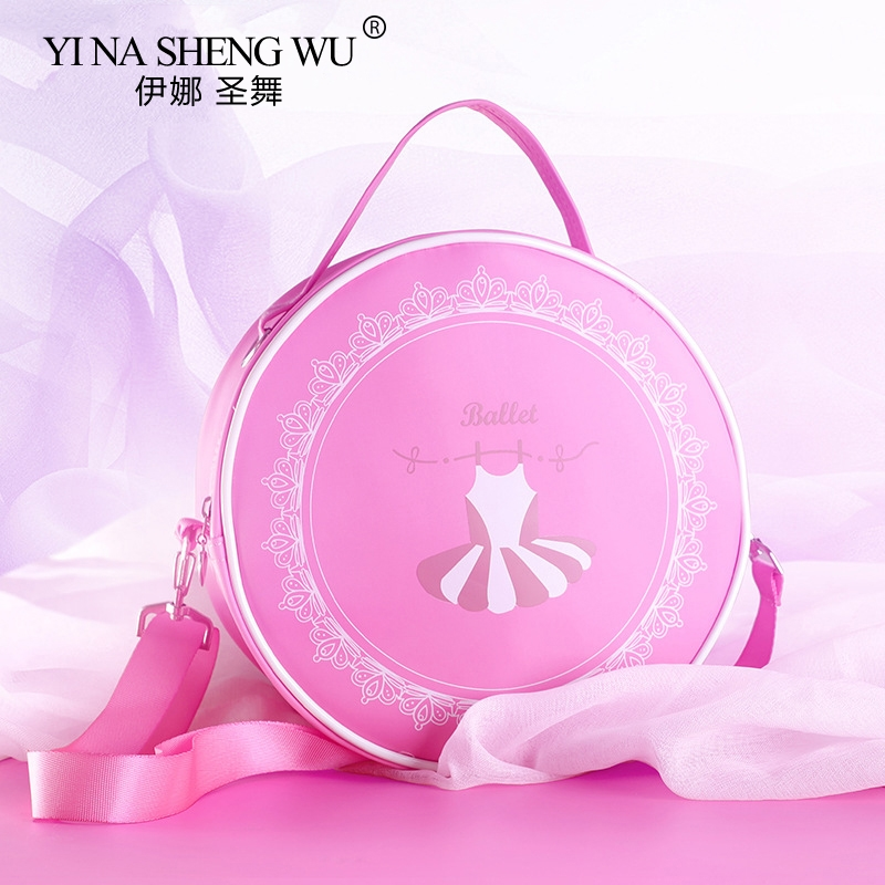 Girls Canvas Ballet Dance Bag Children Ballerina Sports Backpacks Cute Embroidered Bag For Dance 9 Styles  For Girl Dance Bag