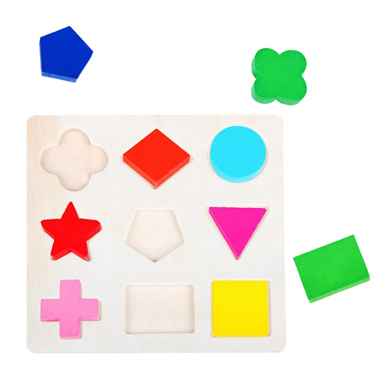 Learning Education Wooden Toys For Children Puzzle Magic Cube Kids Educational Toys Montessori Jigsaw New Year Gifts
