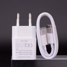 Oppo A33 A53 A9 Realme 7 6 5 3 Pro ładowarka do telefonu USB adapter ścienny typ C mikro kabel ładujący do Huawei P30 P20 lite Honor 9A 10i tanie tanio Danebac CN (pochodzenie) 1 Port Podróży Ac Źródło ROHS ERC-011E-050200 5 V 2A for Huawei P8 P9 lite for Huawei P Smart Z S 2020 2021