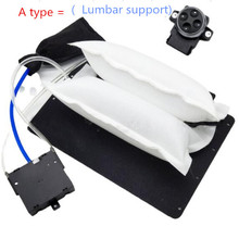 Massage Car-Cushion-Seat Back-Support Pneumatic-Airbag-Seat Lumbar 1 for 12-V Interior-Seat-Styling