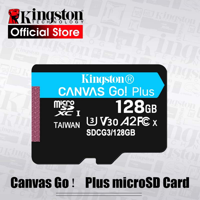 Kingston Micro SD Card 32GB UHS-I U3 flash Memory Cards 64GB Class 10 90MB/S Microsd TF Card 128GB Support HD 3D 4K Video