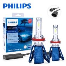Philips H11 Светодиодный H8 H16(JP) Автомобильный головной светильник, лампочки Ultinon эфирные 6000K противотуманный светильник nebbia luces светодиодный para Авто диодные лампы для автомобилей