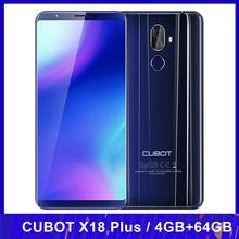 CUBOT X18 Plus octa-core 4GB RAM 64GB ROM telefon komórkowy FHD + 18:9 5.99
