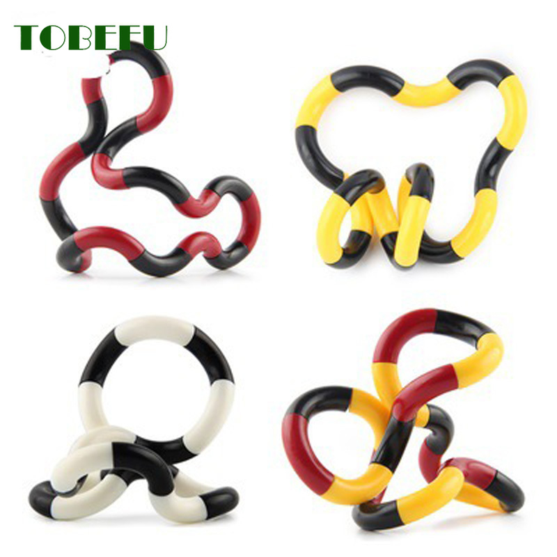 Fidget Toy Decompression-Toy Stress GXE Colorful Adult Kids Child Twist for Play Perfect