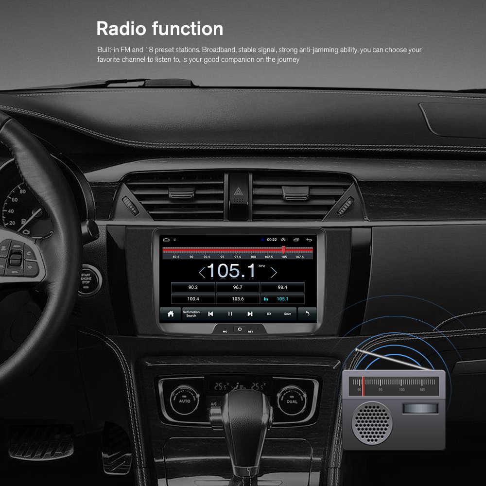 Camecho 2 din Android 8.1 Car Multimedia Player 8 ''HD Touch Mobil Radio GPS Auto Radio untuk Renault Sandero/kain lap/Logan/Doker