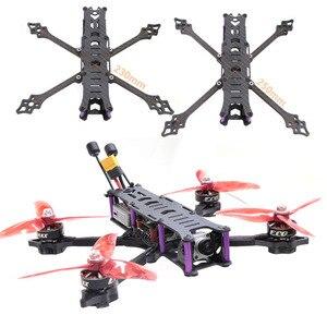 Image 1 - HSKRC HX230 X250 230mm 250mm בסיס גלגלים סיבי פחמן FPV מירוץ Drone מסגרת פריסטייל עבור DJI FPV אוויר יחידה DJI דיגיטלי FPV מערכת