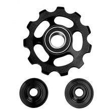 11 T Алюминиевый сплав MTB велосипедный задний переключатель шкив жокейский дорожный велосипед направляющий натяжитель ролика части Аксессу...