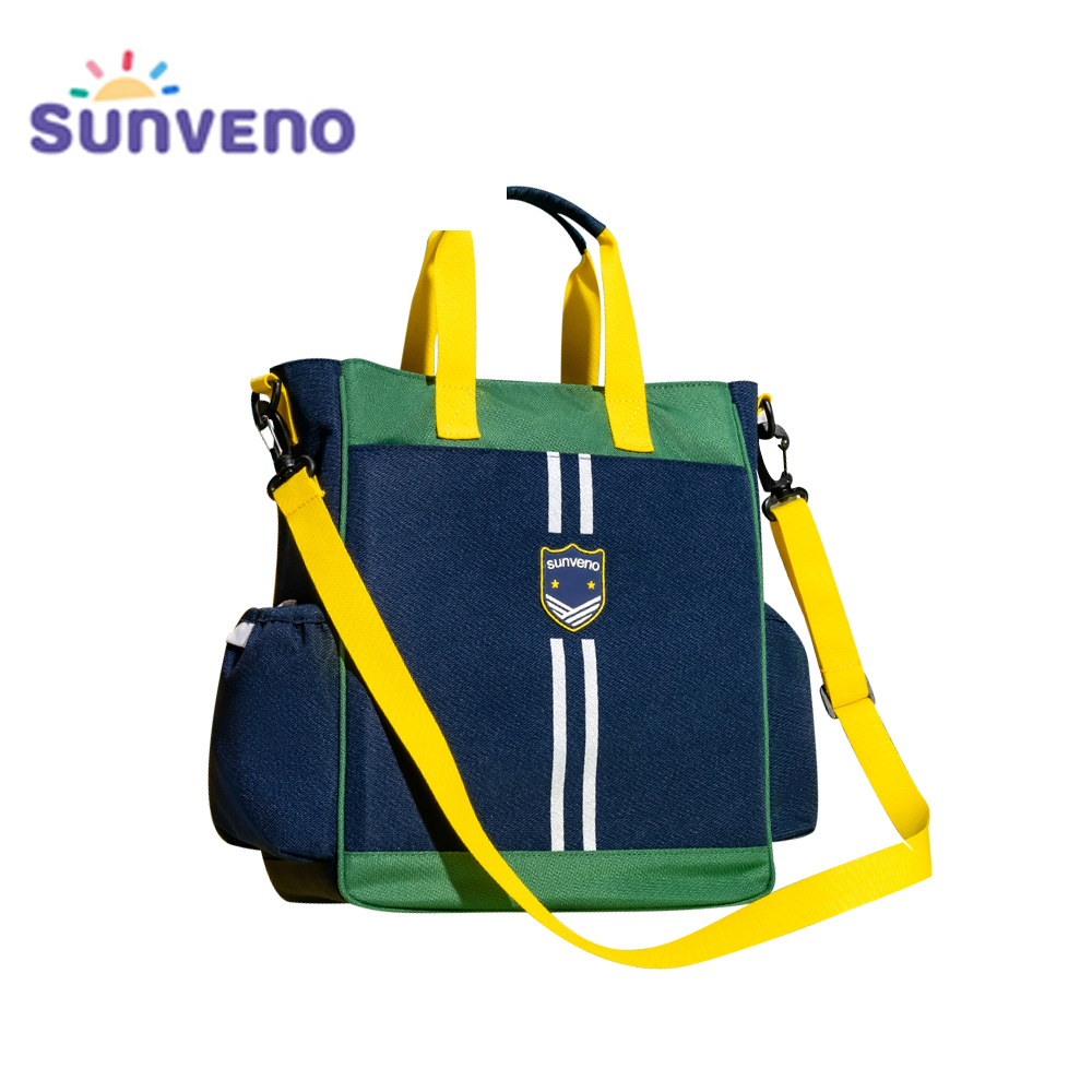 Sunveno 2020 New School Bag Shoulder Handbag Crossbody Bag Tote Handbag  Large Capacity Luggage Organizer For Boys And Girls