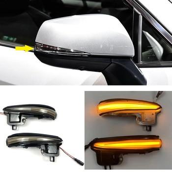 LED Flowing Side Mirror Turning Signal Light Lamp For Toyota Alphard Vellfire AH30 Tacoma 16-19 RAV4 2019 2020 Highlander 2020