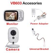 Niania elektroniczna Baby Monitor akcesoria 3.2 cal bezprzewodowy Monitor kolorowy niania elektroniczna Baby Monitor zasilania kamera z adapterem do VB601 VB602 VB603 VB605 uniwersalny