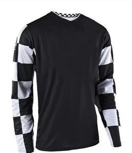 Футболка для мотокросса MX Enduro, черная длинная трикотажная одежда для горного велосипеда DH MTB, футболка для мотокросса, 2019