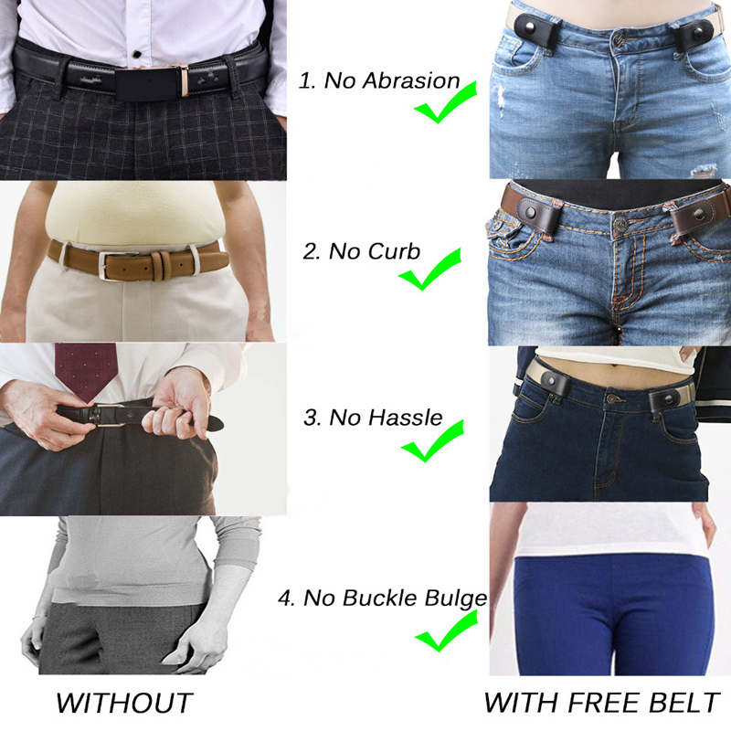 H7f6e8a2bcf4341b5893798881c31b1c8O - Easy Belt Without Buckle free mens Belts For Women waist ceinture femme Elastic stretch riem Jeans hidden Invisible secret kids