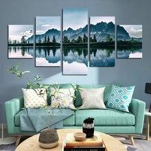 Hd фотография пейзаж печать холст постер возвышающиеся горы