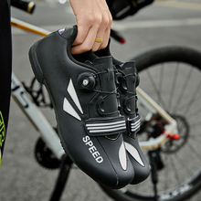 Bicycle shoes men sapatilha ciclismo mtb mountain bike sneakers women leisure cycling shoes non-locking breathable road riding boodun breathable mountain cycling shoes leisure sports outdoor mtb road bike bicycle lock riding shoes women