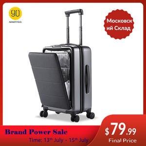 Suitcase Spinner-Wheels Carry-On-Luggage Ninetygo 90fun Hardshell 20inch with TSA Compliant