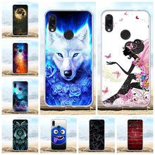 For Xiaomi Redmi Note 7 Pro Case Soft Silicone Cover Animal Patterned Capa