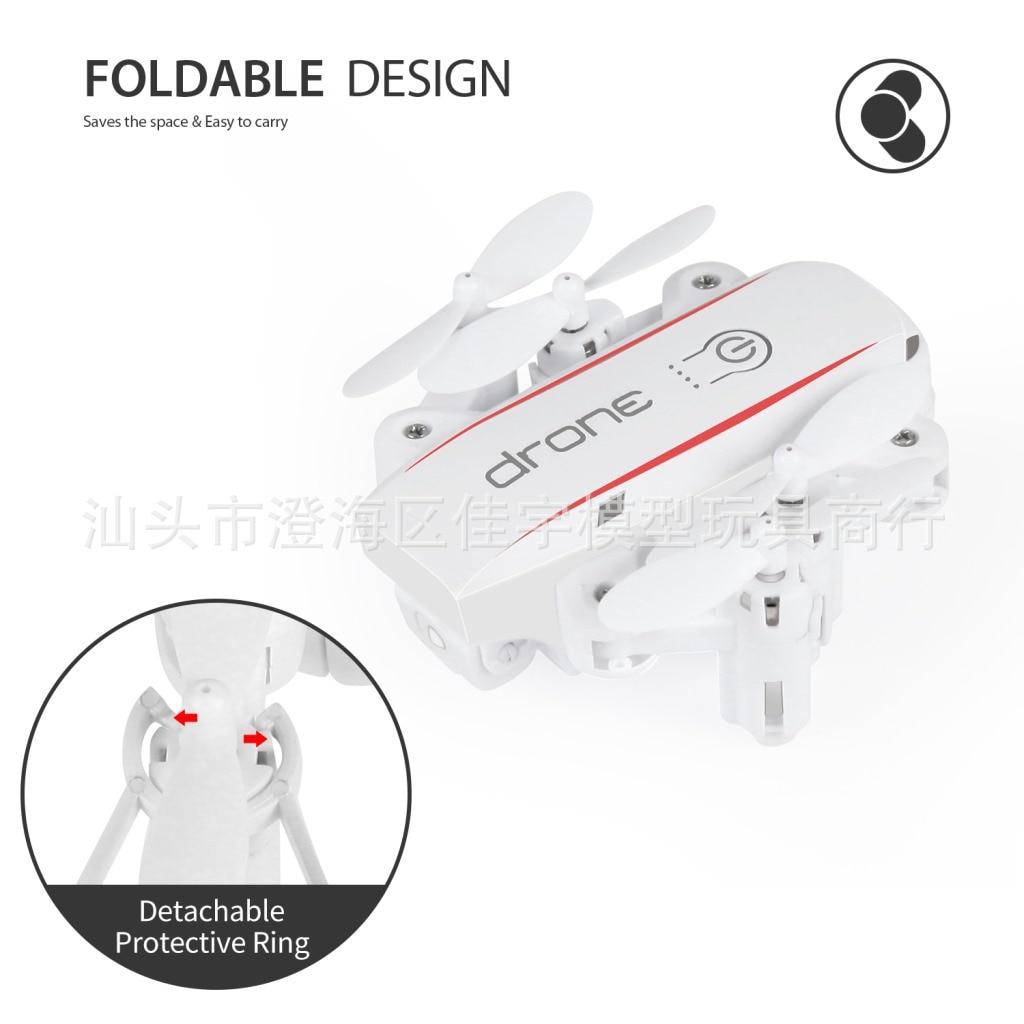1601 Mini Folding Ordinary Version Aerial Photography Folding Unmanned Aerial Vehicle High-definition Camera Pocket Mini Folding