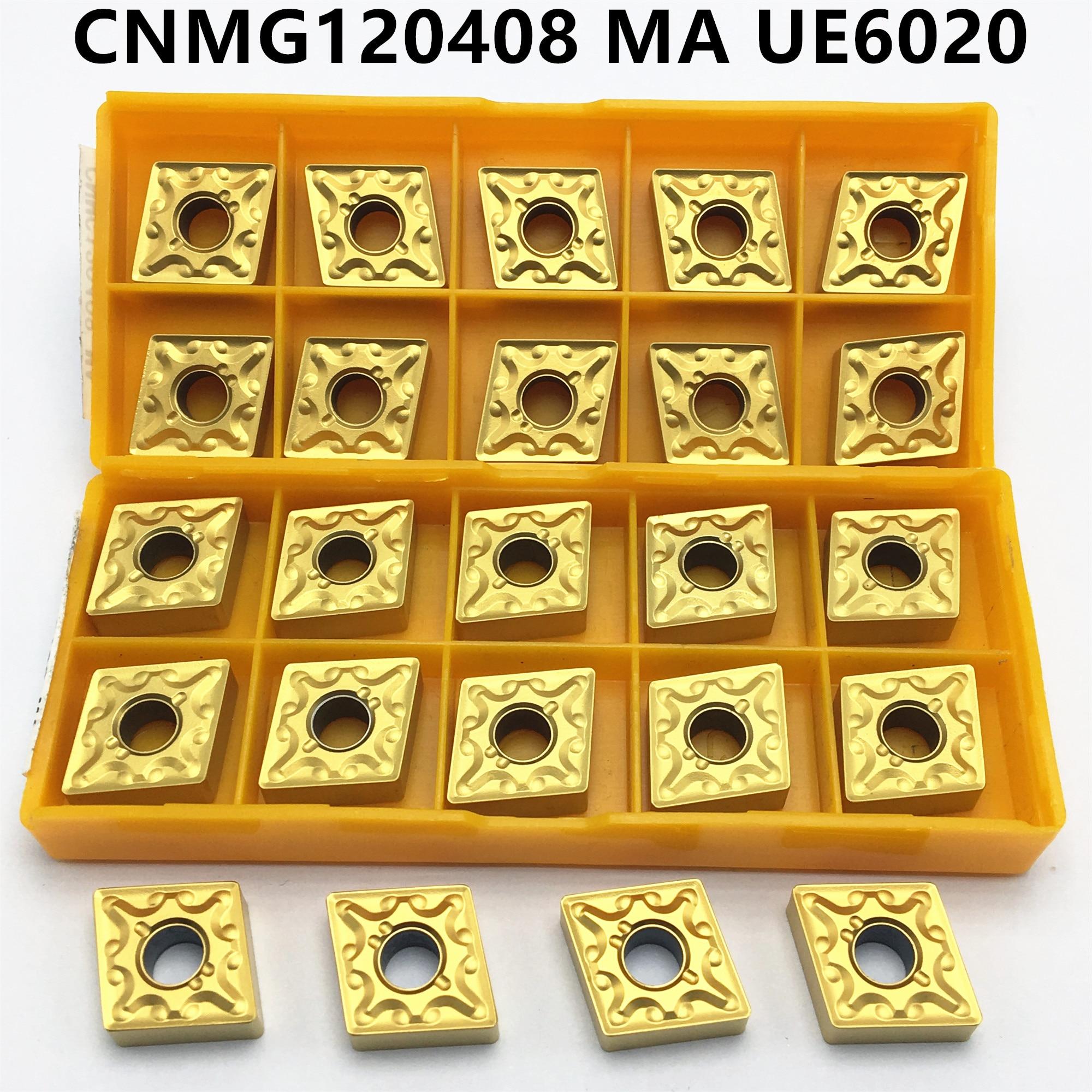 10pcs CNMG120408-MA CNMG432-MA UE6020 Carbird Inserts CNC blade