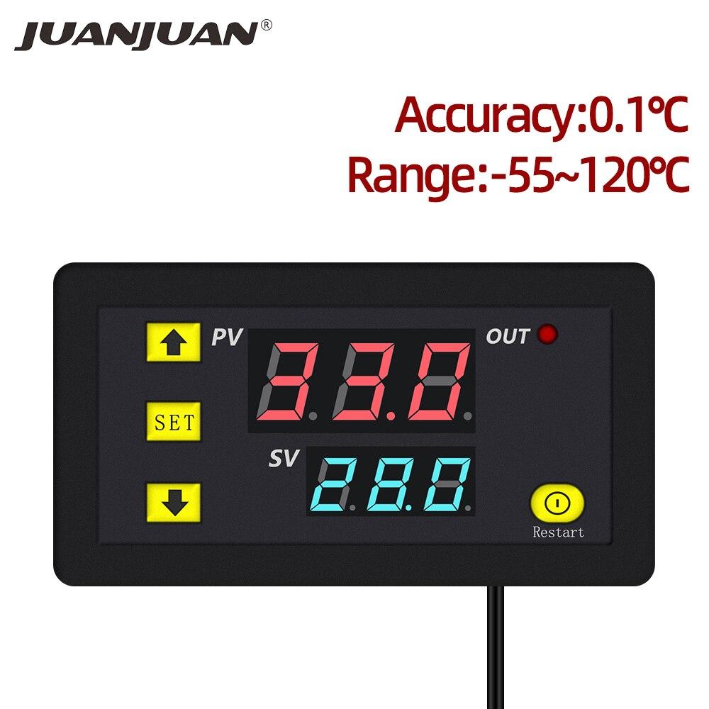 W3230 Temperature Controller Thermostat Humidity Control Thermometer Hygrometer Controller Thermoregulator 12V/24V/220V 40%