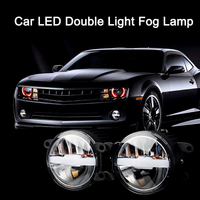 Two color Car Automobile LED Lamp Fog Lamp Headlight High and Low Beam for Reiz Camry