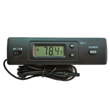 Power-Saving-Thermometer Dual-Temperatures Refrigerator Aquarium Metal-Probe Digital